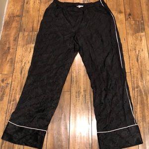 Victorias Secret silk pajama bottoms